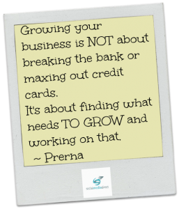grow your business on a budget
