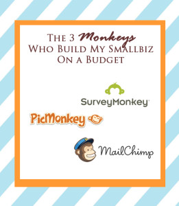 The 3 Monkeys Who Build My Smallbiz On a Budget
