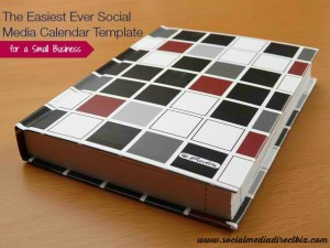 The Easiest Ever Social Media Calendar Template for a Small Business