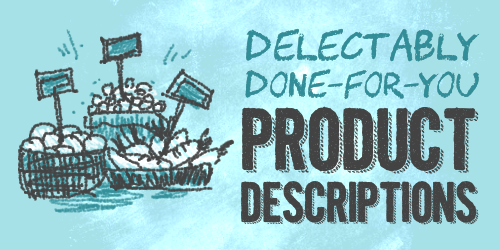 Product Descriptions Writing Services