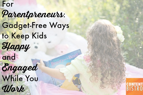 How You Can Keep Kids Busy and Engaged Without Switching on the TV, Taking out the Tablet or Buying More Toys