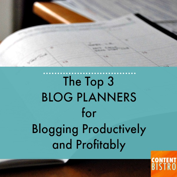 THE TOP 2 BLOG PLANNERS FOR BLOGGING PRODUCTIVELY....