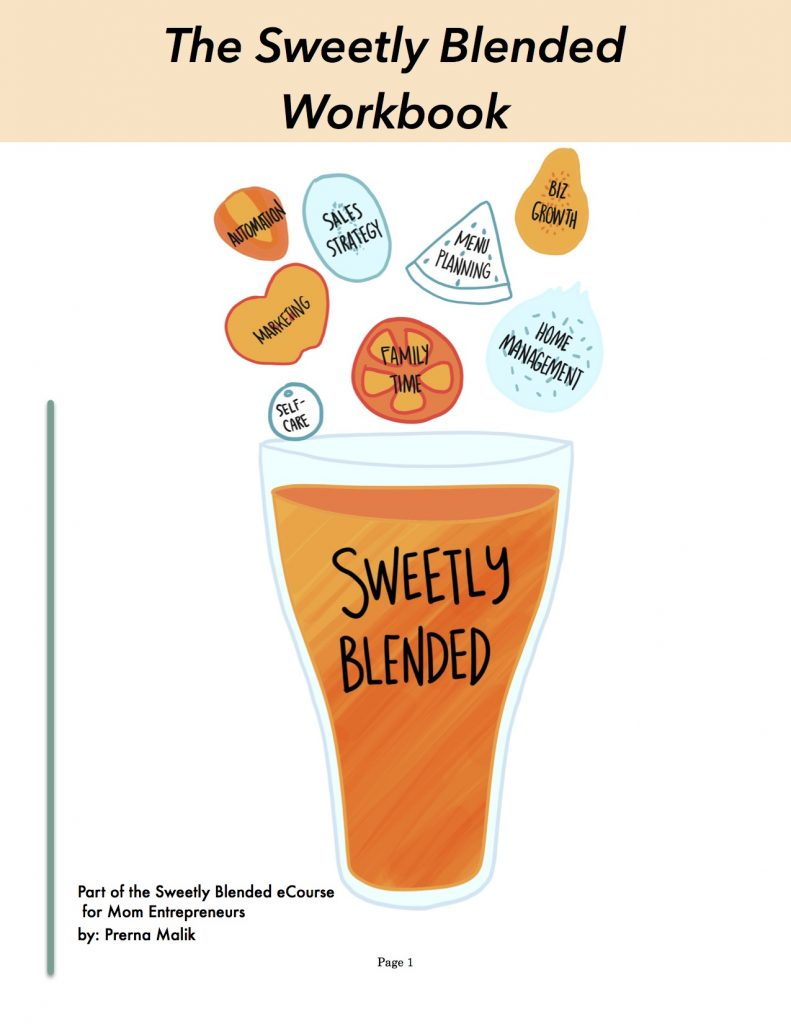Sweetly Blended Workbook