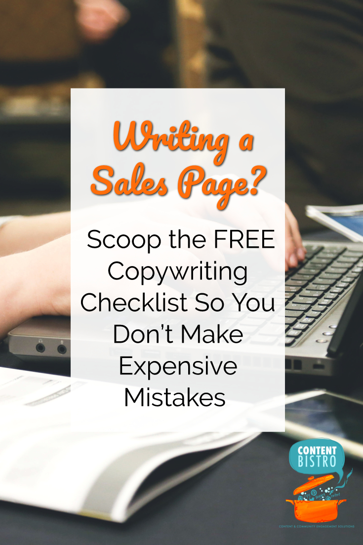 writing a s page a copywriting checklist so you make the more money less mistakes s page copywriting checklist get it