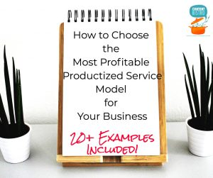 How to Create Productized Services